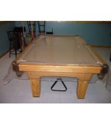 Superbe 8u0027 And 9u0027 Clear Unfitted Pool Table Cover